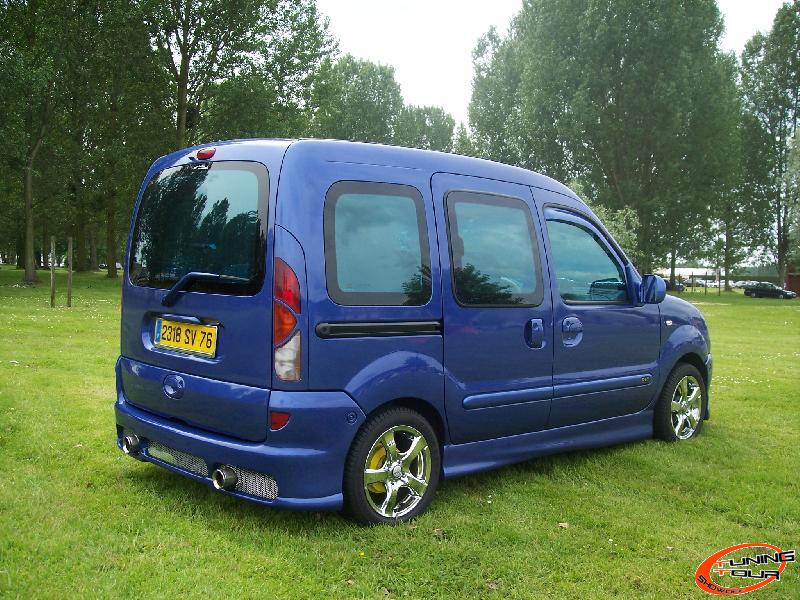 tuning tour renault kangoo de 2000. Black Bedroom Furniture Sets. Home Design Ideas